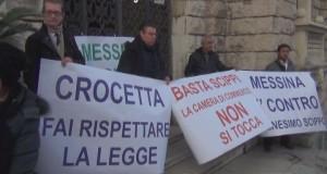 camera di commercio protesta